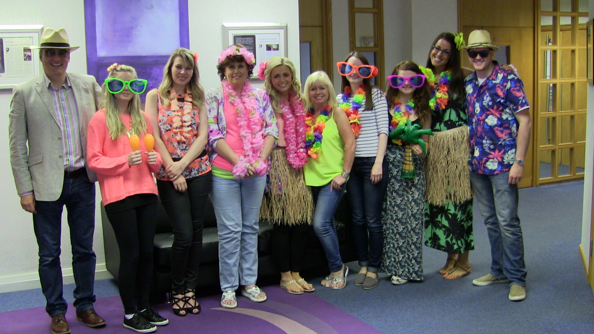 Tropical Day At Hilary Meredith Solicitors Hilary