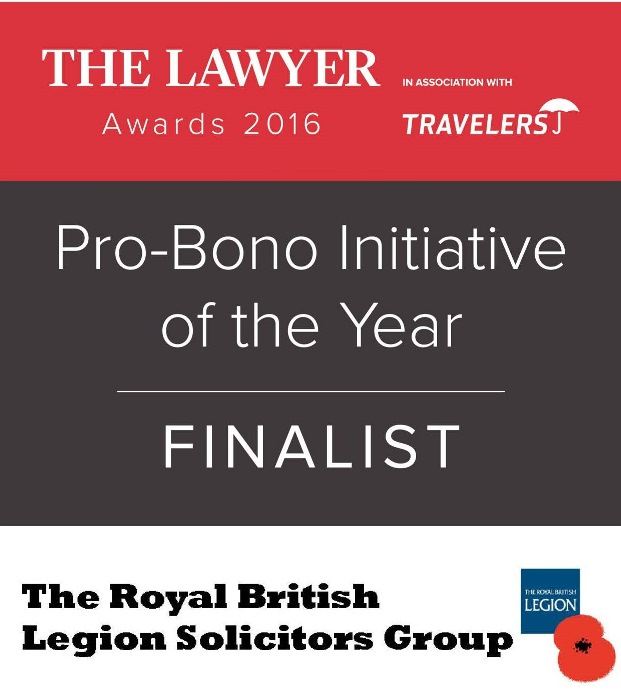 TLA Pro-Bono Initiative of the Year logo
